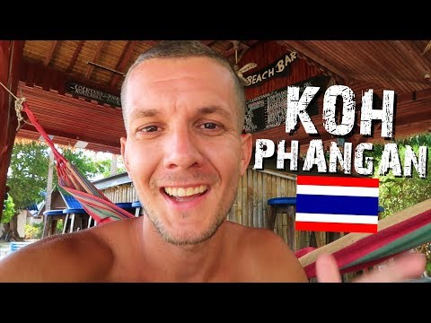 KOH SAMUI TO KOH PHANGAN - THAILAND TRAVEL VLOG