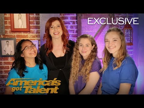 Voices of Hope Children's Choir Reflect On The Judges' Feedback - America's Got Talent 2018