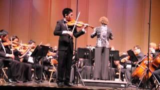 """Mendelssohn: Violin Concerto in E minor - I. Allegro Molto Appassionato (Jongmyung """"John"""" Lim)"""