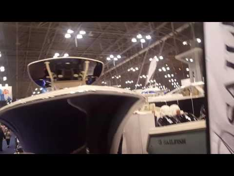 NYC BOAT SHOW AT THE JACOB JAVITS CENTER 2017