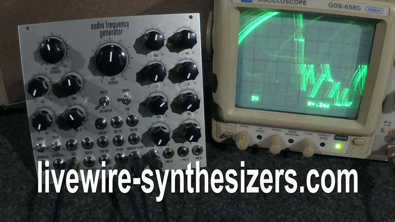 AFG DEMO 1: WAVEFORMS