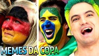 MELHORES MEMES DA COPA - ALEMANHA E BRASIL!!!