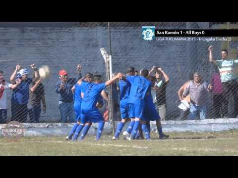 LIGA TUCUMANA: San Ramón 1 - All Boys 0 (Triangular - Fecha 2)