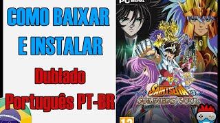 Download e Instalação Saint Seiya Soldiers Soul (PC) Português Dublado