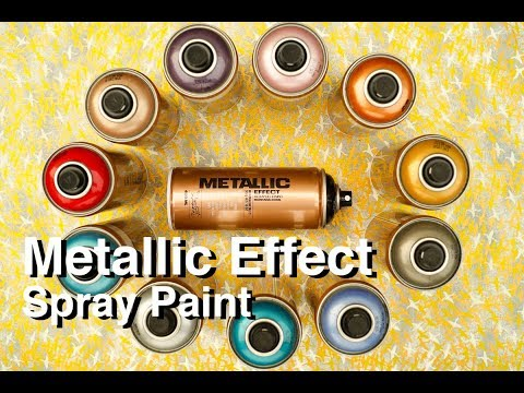 ArtPrimo.com Montana Metallic Effect Spray Paint