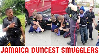 Jamaican D!$$ P0L!!C3 W!CK3D As They ARR3$T Him + Cops BV$T$ The DVNCEST $MUGGL3R Ever