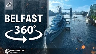 World of Warships - HMS Belfast 360° VR Experience thumbnail