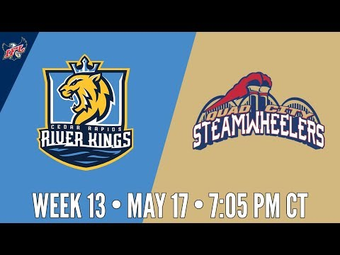 IFL Week 13 | Cedar Rapids River Kings at Quad City Steamwheelers