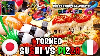 TORNEO SUSHI VS PIZZA! - MARIO KART 8 DELUXE ►NINTENDO SWITCH◄