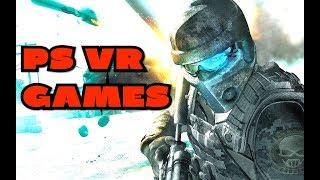 PSVR Games This week ( PS VR Games 2018 ) 🔥🔥