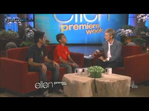 Aldrich Lloyd Talonding & James Bucong Live @ The Ellen Degeneres Show  = 9/12/13