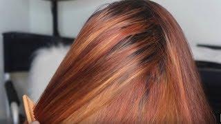 FIRE Orange Color Transformation #SalonWork Ft. Alipearl Hair (Aliexpress)