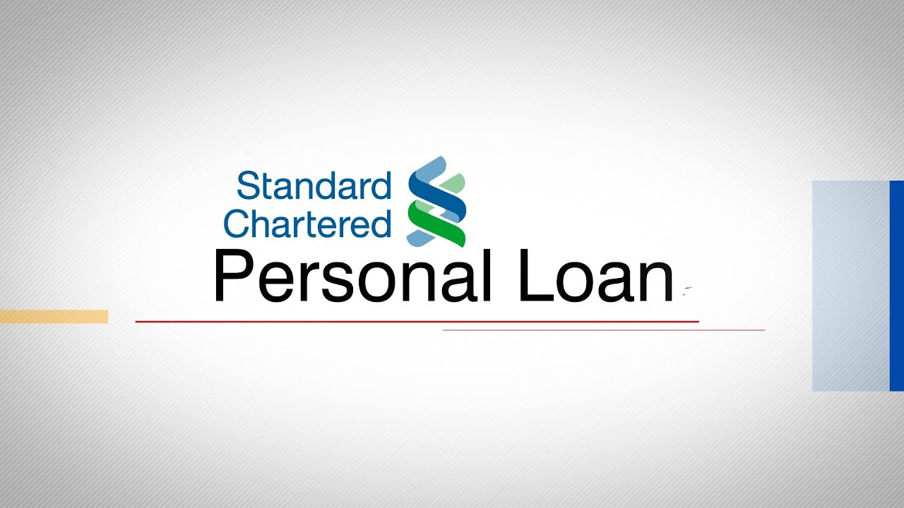 How to Apply for a Standard Chartered Personal Loan on BankBazaar.com - YouTube
