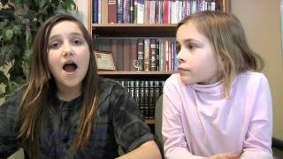 JC Angels Show | Preteen girls Haily and Sarah create their own show and blog! CUTE!