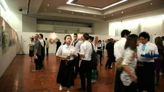 David Gerstein art exhibition 2011 at The National Gallery, Bangkok THAILAND
