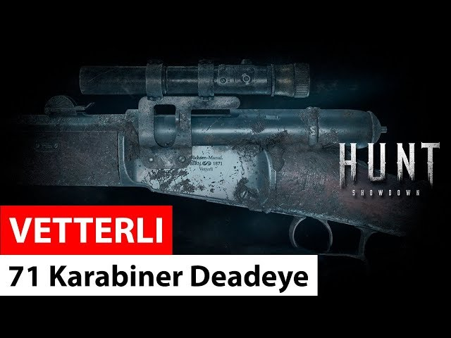 Vetterli 71 Karabiner Deadeye | Hunt: Showdown