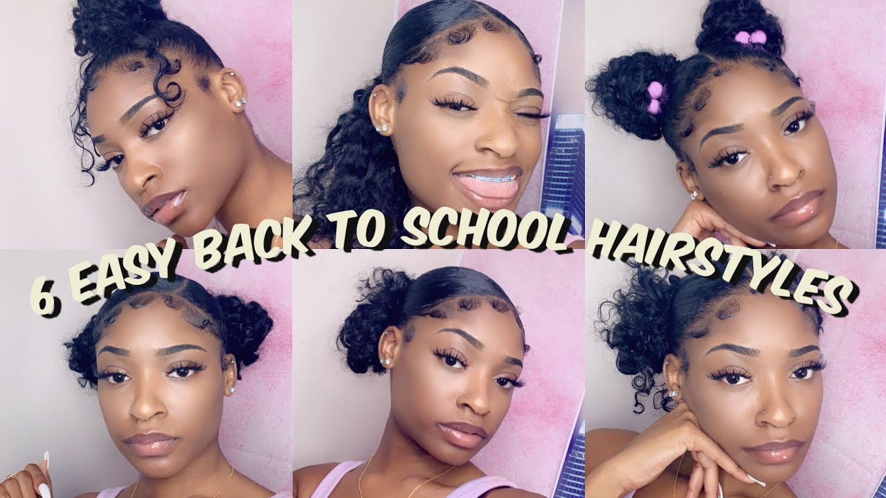 Back To School Hairstyles On Natural Hair 2019 Youtube