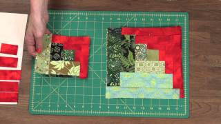 Quilty: How To Make A Curved Log Cabin Quilt Block