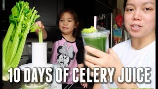 I DRANK CELERY JUICE EVERY DAY FOR 30 DAYS! BENEFITS & RESULTS