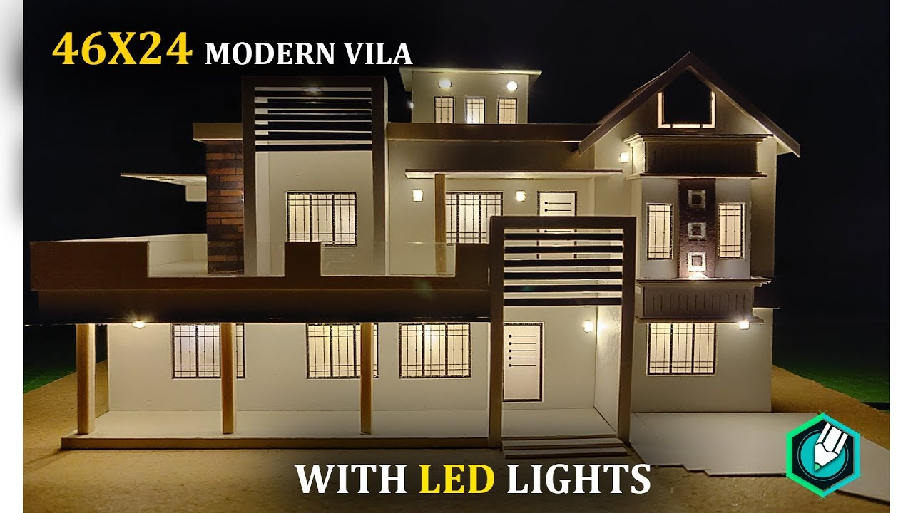 HOW to MAKE a CARDBOARD house with LED LIGHTS | 46X24 | CONTEMPORARY Cardboard House Modern Design on modern metal house, modern box house, modern clay house, modern bird house, modern tin house, modern house design, modern house phones, modern wood panel house, modern stone house, modern dirt house, modern concrete house, modern cantilever house, modern brick house, modern bamboo house, modern canvas house, modern cement house, modern wooden house, modern pet house, modern cinder block house, modern dog house,