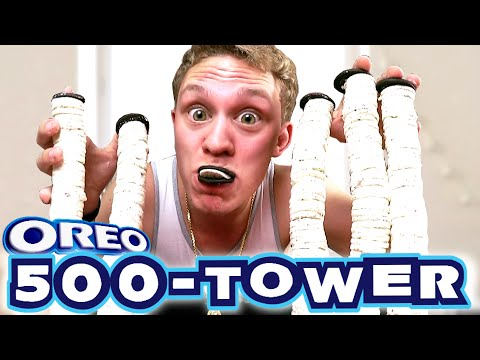500 SCHICHTEN OREOS! 500 LAYERS OREO TOWER!