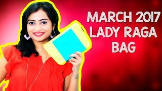 Majestic March 2017 Lady Raga Bag/ Lady Raga Bag Review/ Indian Mom on Duty