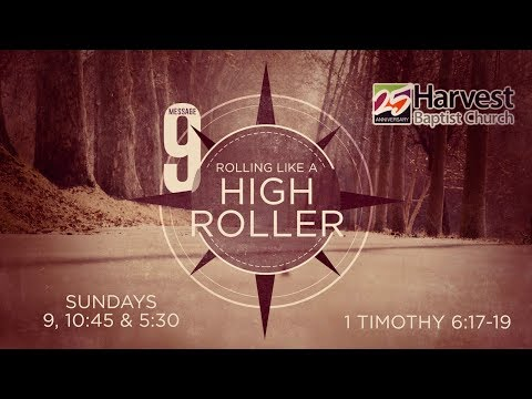HBC 25th Anniversary Year:  Rolling Like A High Roller - Message Nine