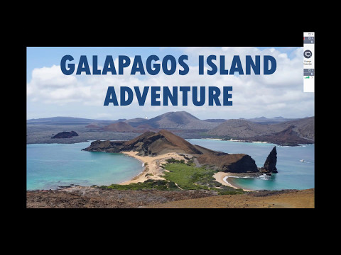 Learn about the Galapagos Island Adventure May 11, 2017