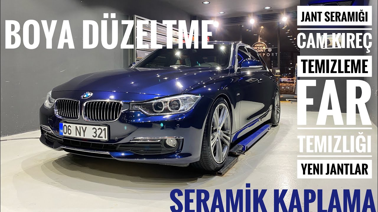 BMW 320i F30 Boya Düzeltme !YENİ JANTLAR! | Seramik Kaplama | Jant Seramiği | Vintage Detailing |