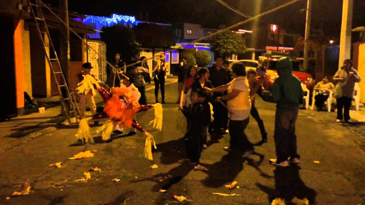 posadas and piñatas mexico youtube
