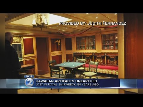 Kauai Museum opens crates of artifacts from King Kamehameha II