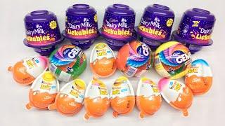 Lot's of Kinder joy, Dairy milk Iickables, Gems suprise balls