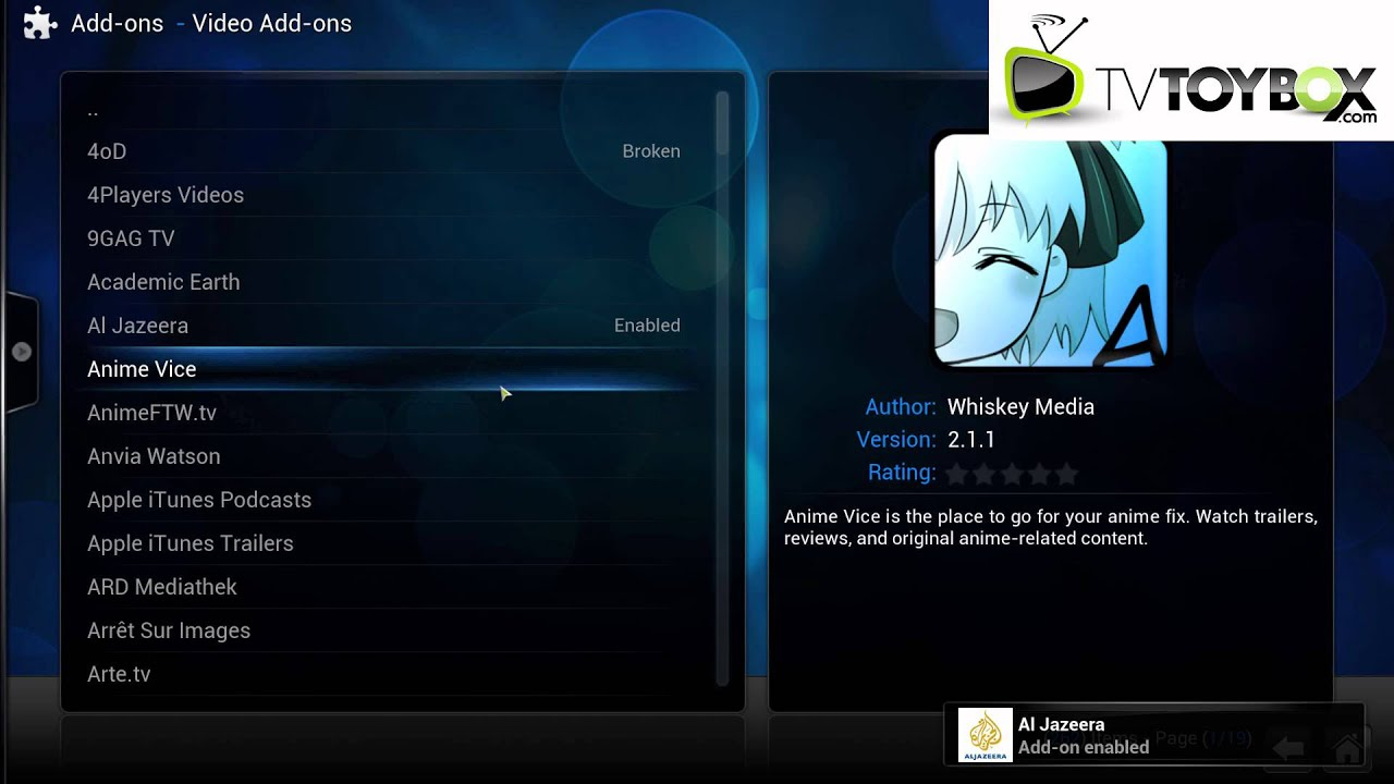 how to add on xbmc android