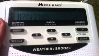 Weatheradio Canada - Severe Thunderstorm Warning (EAS #17)