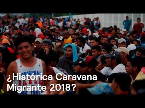 Caravana Migrante de Honduras 2018 hace historia por su dimensión - En Punto con Denise Maerker