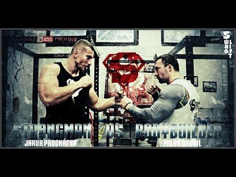 Strongman VS Bodybuilder