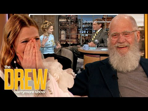 David Letterman Rewatches the Iconic Moment Drew Barrymore Flashed Him on TV 25 Years Ago (Extended)