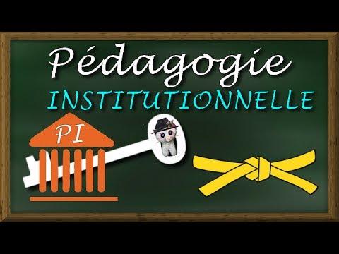 Scission avec Freinet : la PÉDAGOGIE INSTITUTIONNELLE (Fernand Oury)