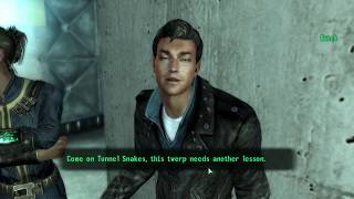 This twerp needs another lesson - Fallout 3