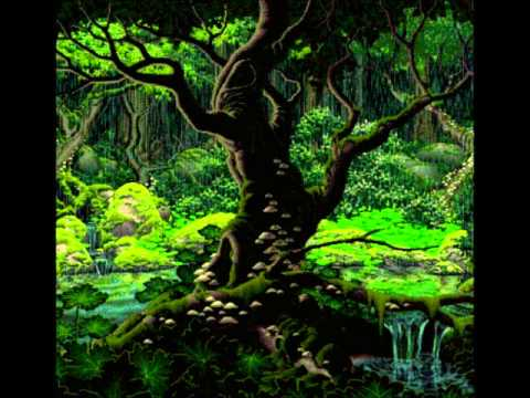 Chrono Trigger - Secret of the Forest (remix super loop + rain sounds)