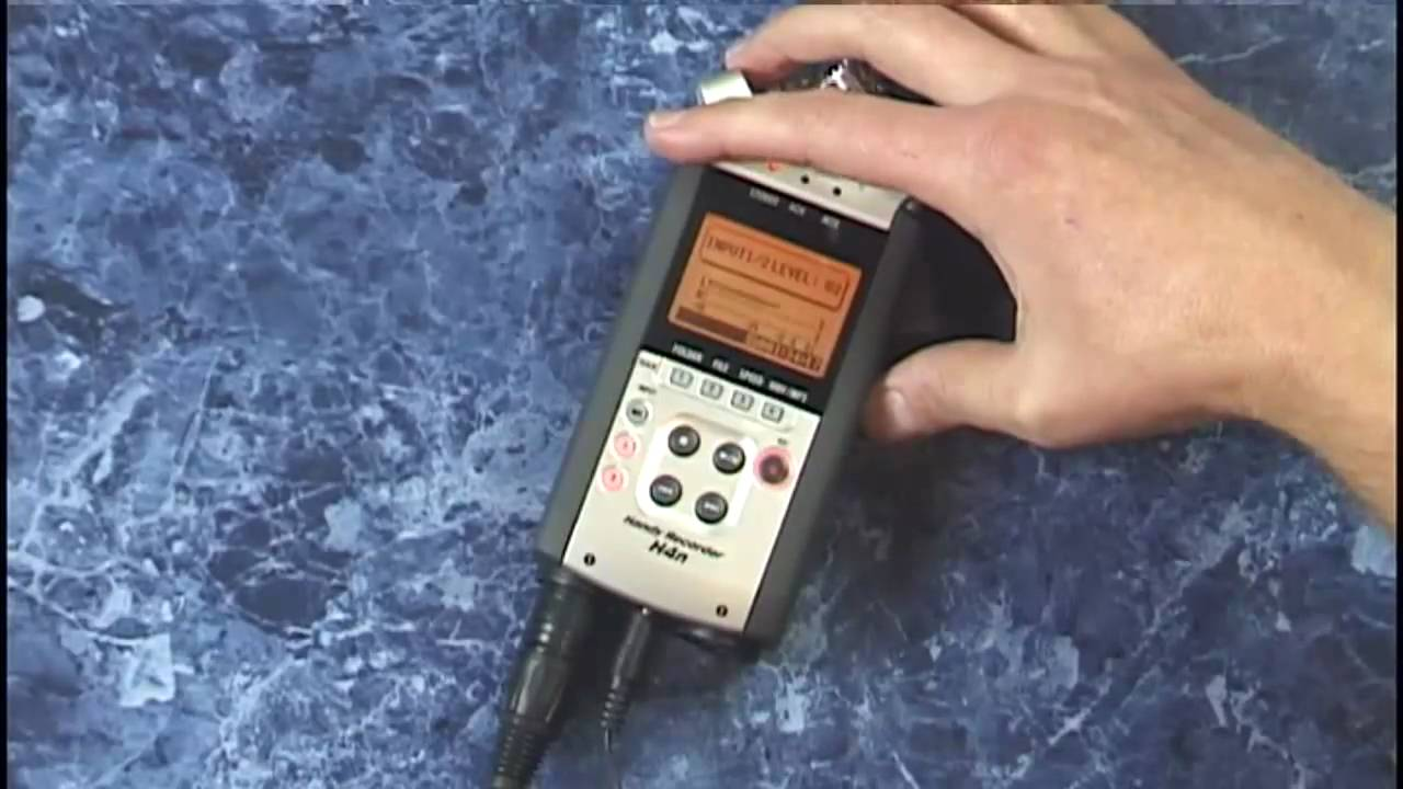zoom h4n tutorial review recording with external mics condenser and dynamic  - youtube
