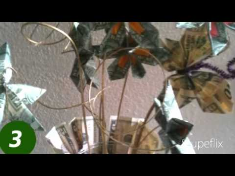 Jaylens create a gift money trees and leis youtube negle Choice Image
