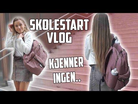 Back2School vlog: Første skoledag på ny skole! Hitter 40 tusen! Mina Jacobsen