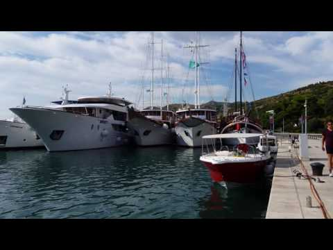 Dubrovnik Harbor (Croatia) - 4K