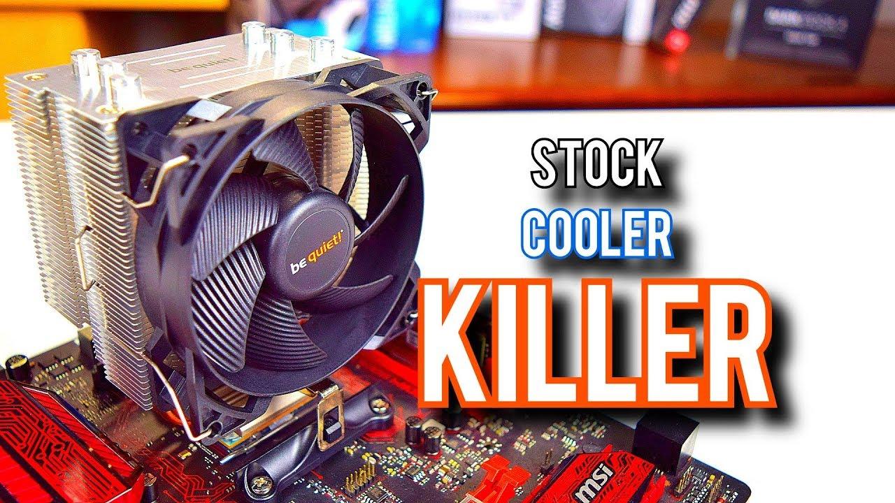 Stock Coolers Beware! [Pure Rock Slim Review]