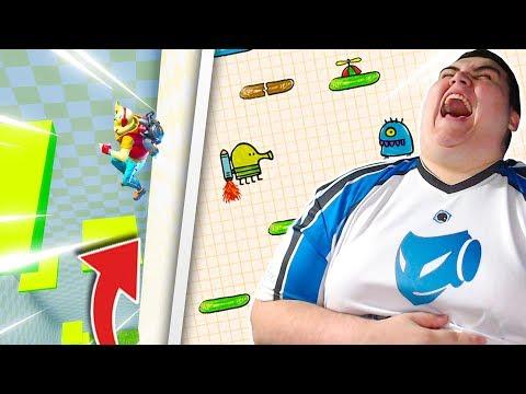 """un-mode-""""doodle-jump""""-comme-le-jeu-mobile-sur-fortnite-crÉatif-!"""