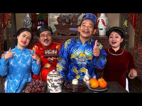 Hài Tết 2018 - Phim hài Văn Minh Điện Thoại Hài Công Lý Xuân Bắc Quang Thắng Gặp Nhau Cuối Tuần (42:47 )