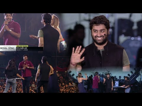 Arijit Singh Live Mtv India tour 2018 / arijit singh meet his winner fan 😍