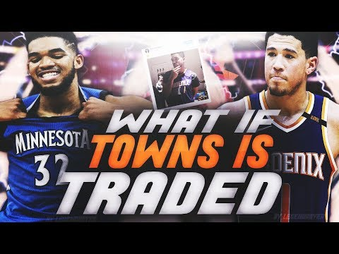What If Karl-Anthony Towns is TRADED to the Suns?