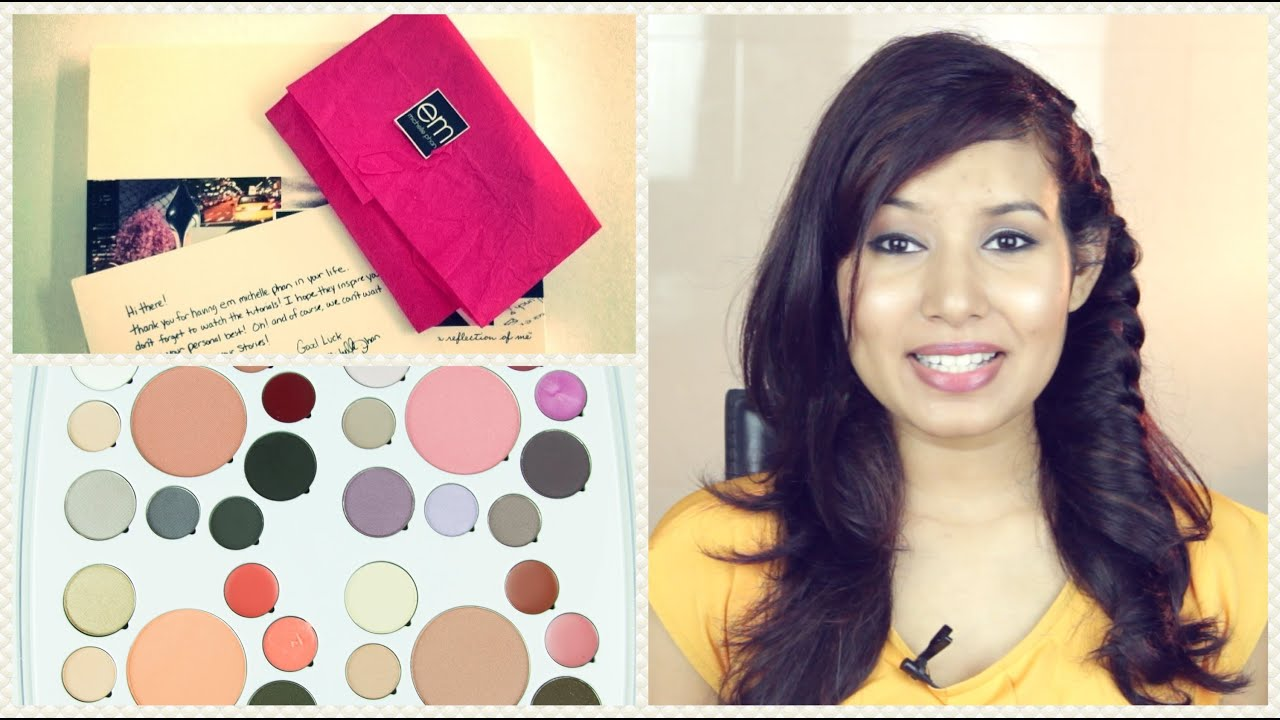 EM Cosmetics by Michelle Phan Review! - YouTube